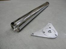 Noga Metalowa NOVA AN-710  Z Regulacją  fi60 Wys.71cm CHROM POŁYSK - Amix