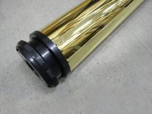 Metalowa noga meblowaNOVAAN-710 w kolorze mosiądz. Wysokość 71cm Posiada regulację wysokości +2cm Średnica nogi 60mm. Wyrób umożliwiający...