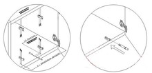Airtic - Adapter Do Hamulca Do Drzwi Nakładanych 32 klon - Airtic Professional