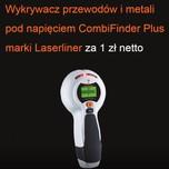 Produkt objęty promocją    Za zakup 250szt. zawiasów 71M2550 z prowadnikami 173L6100 (bez euro)  otrzymasz  Wykrywacz przewodów i...
