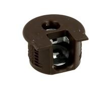 Złączka Rafix Bez Zaczepu Do Grubości Płyty od 16mm Brąz  Złącza Rafix do korpusów i półek są wyposażone w elementy dociągające z cynkalu,...