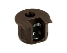 Złączka Rafix Bez Zaczepu Do Grubości Płyty od 19mm Brąz  Złącza Rafix do korpusów i półek są wyposażone w elementy dociągające z cynkalu,...