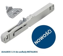 Hamulce, ograniczniki AirticBOX Hamulec Do Szuflad Metalbox Slim KPL=2szt - Airtic Professional