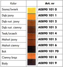 Materiały naprawcze Pisak Retuszerski A0890101 3  DĄB Rustykalny Ciemny 1szt. Wurth - Würth