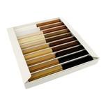 Woski retuszujące miękkie Zestaw 20 kolorów - foto nr2 Zalety: Szeroka gama kolorów ● Możliwość wykonania retuszudla bardzo wielu gatunkówdrewna....