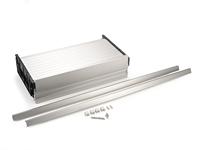 Żaluzja Rauvolet ML20 szer. 60/100cm wys. Aluminium z prowadnicami - Rehau