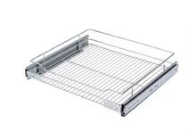 SzufladaVariant PLUS N 50 2 Poziomy Metal Lakier Srebrny  System Carg Variant Plus to linia produktowa Rejs do wyposażenia szafek kuchennych niskich...