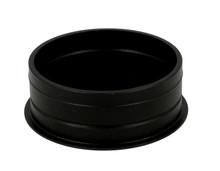 Przepust Aluminiowy Czarny fi 60 Ze Szczotką - Siso