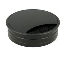 Przepust kablowy Przepust Aluminiowy Czarny fi 80 Ze Szczotką - Siso