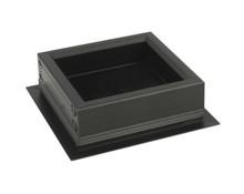 Przepust RUMBA Mała Aluminiowy Czarny - Siso