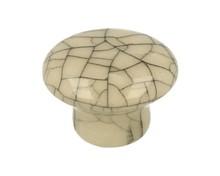 Klasyczna gałka porcelanowa w kolorze kremowym MLK-4, zastosowanie kuchenne