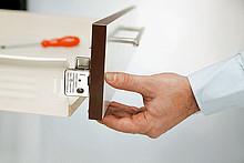 Szuflada METABOX 320M H=86mm Wysuw75% SZARA dł.45cm Blum - Blum