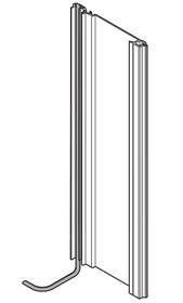 Profil nośny bez przewodu do SERVO-DRIVE (elektryczne wspomaganie otwierania szuflad) do systemu prowadnic i szuflad TANDEMBOX firmy Blum, kolor aluminium,...