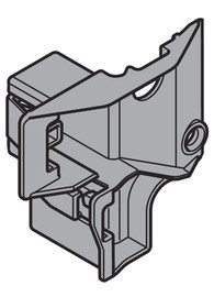 Prowadnica odbojnika do SERVO-DRIVE (elektryczne wspomaganie otwierania szuflad) do systemu prowadnic TANDEM i szuflad TANDEMBOX firmy Blum. Montaż na wcisk,...