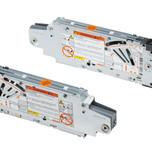 Siłowniki 20F2200.05 z szarymi zaślepkami 20F8000 to element systemu AVENTOS HF. Aventos HF unosi i składa w środku dwuczęściowy front podczas...