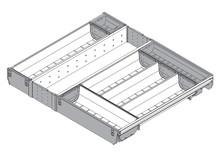 ORGA-LINE Wkład na sztućce Do Tandembox głęb.45cm/szer.60cm - Blum