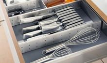 Organizery kuchenne ORGA-LINE Wkład Na Sztućce Robocze Do Tandembox gł.50cm/sz19,4cm - Blum