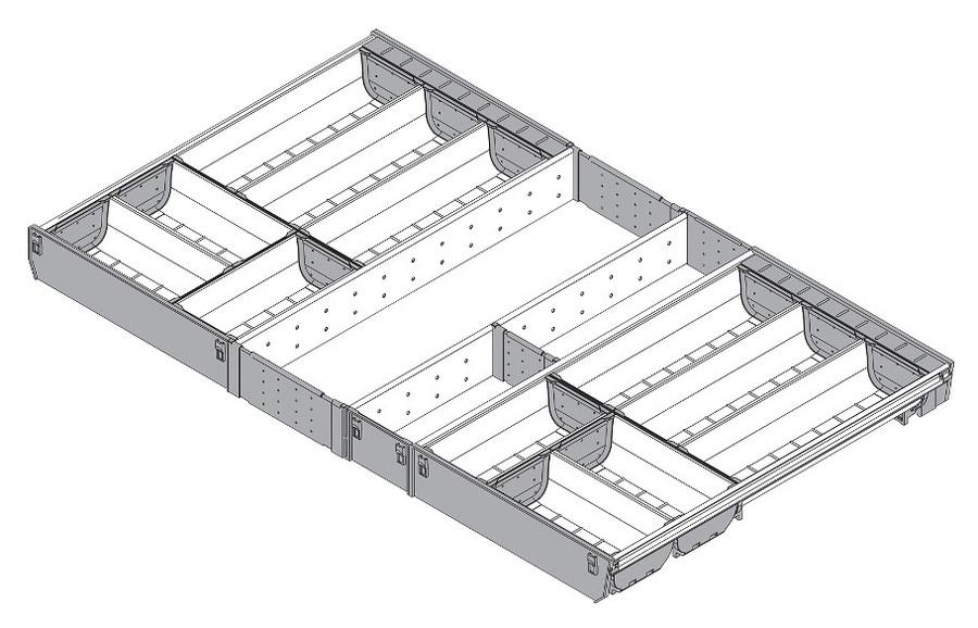 c918cbdc09da87 ORGA-LINE Wkład Na Sztućce Do Tandembox głęb.50cm/szer.90cm, Blum ...
