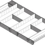 ORGA-LINE to elastyczny system podziału wewnętrznego szuflad. Pozwala optymalnie wykorzystać przestrzeń i zachować porządek. Składa się z wyjmowanych...