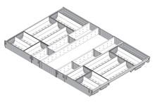 ORGA-LINE Wkład Na Sztućce Do Tandembox głęb.65cm/szer.100cm - Blum