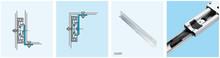 Prowadnica kulkowa 3732 dł.50cm 40kg 100%wysuw Accuride - Accuride