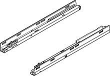 PROWADNICA 558.5501B z hamulcem BLUMOTION do szuflady Tandembox dł.55cm Prowadnice 558 B charakteryzuje płynny ruch przez cały okres użytkowania....