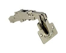 CLIP top zawias z szerokim kątem otw. 71T6550 do szafki z grubymi bokami lub do drzwi składanych Kąt otwarcia: 170° Wygięcie: prosty Mocowanie puszki: na...