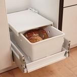 Proszę wybierać opcję przedpłaty przy zamawianiu pojemnika!!! Pojemnik na pieczywo z funkcjonalna pokrywą utrzymującą świeżość - do zabudowy w...