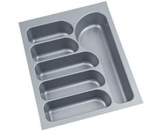 FUTURA wkład do szuflad 45L wykonane są z trwałego i estetycznego tworzywa w kolorze srebrnym o lekko chropowatej fakturze. Pozwala optymalnie wykorzystać...