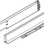 Produkty 358M5004SG Rodzaj szuflady: bok szuflady TANDEMBOX Wysokość boku szuflady: M=83 mm Warianty szuflad Box: Wykrój dla szafki...