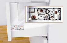 Tandembox ANTARO Boki Wys.M=83mm dł.40cm J.Białe Blum - Blum