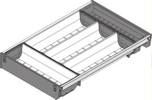 Wkład na sztućce pojedynczy ZSI.450BI3N podział wewn. TANDEMBOX ORGA-LINE to elastyczny system podziału wewnętrznego szuflad. Pozwala optymalnie...