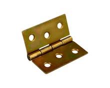 Zawias splatany 4 cm w wykończeniu żółty ocynkowany. Zawias splatany produkowany jest o długościach 30mm,35mm,40mm,50mm,60mm i 70mm. Wymiary zawiasu...