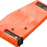 Wzornik wiertarski ZML.0010 do obróbki szuflady tackowej. Za pomocą tego wzornika można wygodnie i dokładnie nawiercić otwory montażowe w dnie pod...
