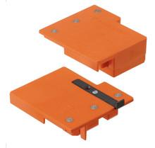 Wzornik punktowy ZML.1510 do obróbki frontu szuflady METABOX. Służy do określenia pozycji montażowych mocowań frontu typu ZSF.1510 Zastosowanie -...