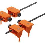 Wzornik punktowy ZML.8000.02 do obróbki frontu szuflady METABOX. Ułatwia montaż relingów. Służy do punktowania pozycji otworów pod mocowania relingów...