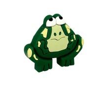 Uchwyt do mebli dziecięcych w kształcie żabki renomowanej firmy Siro  Wykonany ze specjalnego miękkiego tworzywa w celu ochrony dzieci.  Uchwyt w...