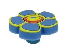 Uchwyty  Uchwyt Dziecięcy Gummi H149-44RU4 ( Kwiatek Niebieski ) - Siro