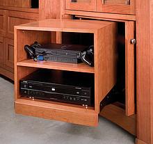 Mechanizm Wysuwno-Obrotowy DBMAC-050 do urządzeń Audio-Video. Umożliwia wygodny dostęp do gniazd na tylnych panelach urządzeń, dzięki możliwości...