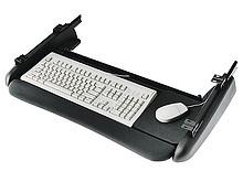 Metalowa półka klawiaturowa CBERGO-TRAY200 w wersji bez piórnika. Wykończenie tylko w kolorze czarnym. Przeznaczona do montażu pod blatem. Udźwig do...