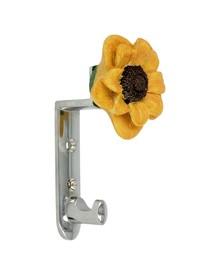 Wieszak z kolekcji Flower firmy Siro.  Zaprojektowany przez Simone Gutsche-Sikora Wykonany z metalu, pokrycie galwaniczne- chrom błyszczący. Rozstaw -...