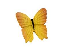 Gałka Z kolekcji Butterfly - motyw żółtego motylka. Wykonana z tworzywa sztucznego.  Piękna gałka w kształcie żółtego motyla znajdzie zastosowanie...