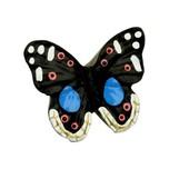 Gałka Z kolekcji Butterfly - motyw kolorowego motylka. Wykonana z tworzywa sztucznego.  Gałka w kształcie motyla sprawi, że nawet prosty mebel nabierze...