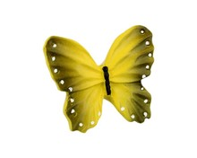 Gałka Z kolekcji Butterfly - motyw żółtego motylka. Wykonana z tworzywa sztucznego. Zaprojektowana przez Simone Gutsche-Sikora.