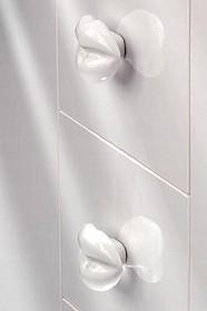 Gałka SP42-60  Z Kolekcji Body Line Porcelana - Siro