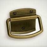 Uchwyt z kolekcji Italian Line, renomowanej firmy SiroWykonany z metalu w pokryciu mosiądz galwanizowanyKolekcję Merida zaprojektował Gunther Sikora ...