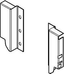 Szuflady Tandembox ANTARO -Uchwyty ścianki tylnej Z30K h=115mm J.Białe - Blum