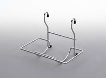 Koszyk Zawieszkowy Do Papieru Metal Chrom Systemy relingowe świetnie wypełniają pustą przestrzeń między szafkami dolnymi a górnymi półkami Dzięki...