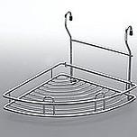 Koszyk Zawieszkowy Narożnikowy Metal Chrom Systemy relingowe świetnie wypełniają pustą przestrzeń między szafkami dolnymi a górnymi półkami Dzięki...