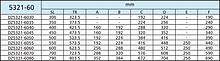 Prowadnice do dużych obciążeń Prowadnica kulkowa 5321-60 55cm 120kg Wysuw ponad 100% Accuride - Accuride
